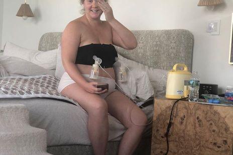 Znana aktorka wraca do pracy 14 dni po porodzie: spadła na nią fala hejtu