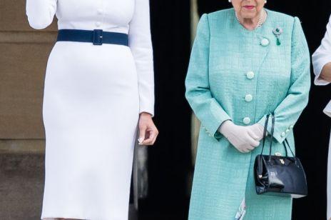 Melania Trump zachwyciła stylizacją w Pałacu Buckingham: to hołd dla księżnej Diany