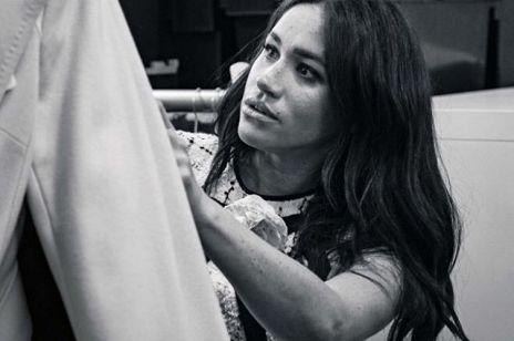"""Meghan Markle autorką pięknej okładki """"Vogue`a"""". W środku szczery list i wywiad z Michelle Obamą"""