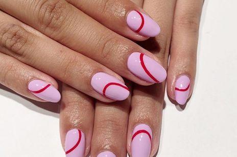 Modne paznokcie na jesień 2019: pokochałyśmy prosty, ale efektowny manicure z linią