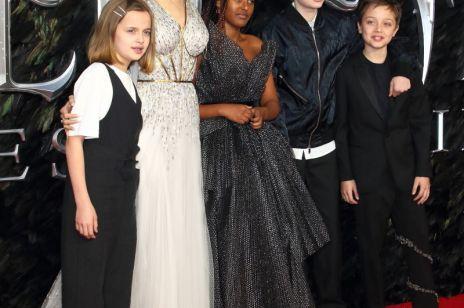 Angelina Jolie na czerwonym dywanie - kreacja gwiazdy zachwyciła fanów