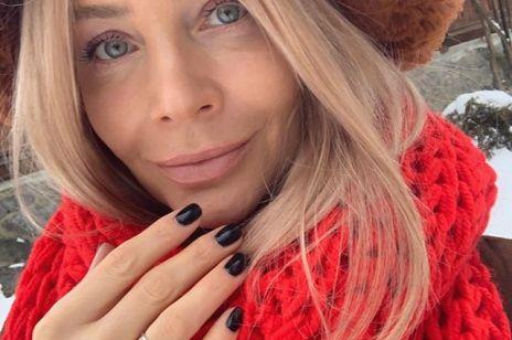 """Agnieszka Woźniak-Starak na Instagramie wzruszająco o ostatnim filmie męża """"Ukryta gra"""""""