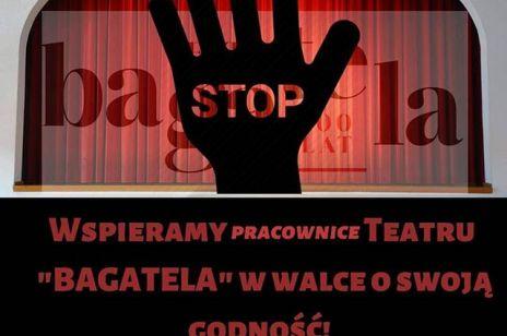 Sprawa Teatru Bagatela nie cichnie: terapeutka opiekująca się aktorkami wyjawia prawdę