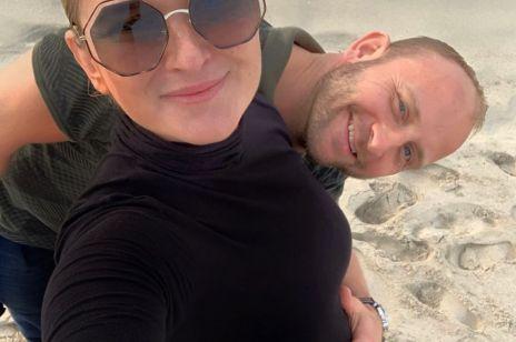 Borys Szyc po raz drugi zostanie tatą. Justyna Nagłowska pochwaliła się ciążowym brzuszkiem [ZDJĘCIA]