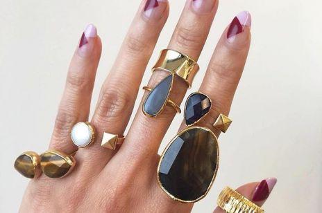 Paznokcie na Sylwestra 2019 - kolorowe wzory to najmodniejszy manicure sezonu!