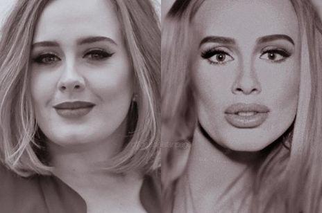 Adele nie do poznania na zdjęciu z Kingą Rusin - to zdjęcie podbija internet