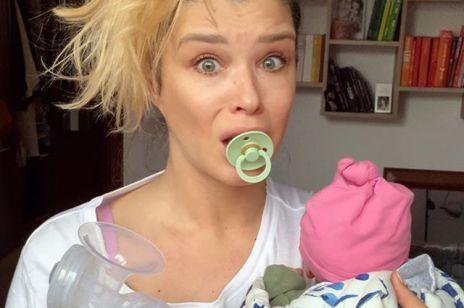 Znana aktorka porównuje urlop macierzyński do kwarantanny: słusznie?