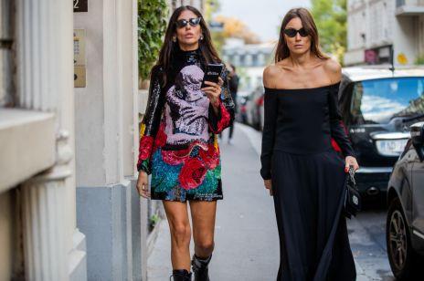 Moda trendy wiosna 2020: sukienka z hiszpańskim dekoltem to hit sezonu