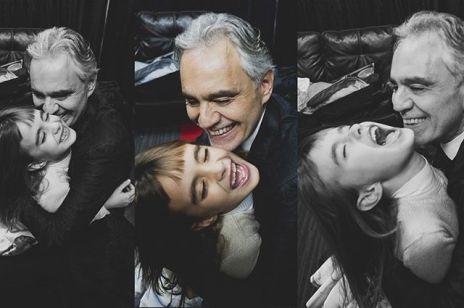 Andrea Bocelli zaśpiewał we wzruszającym duecie z 8-letnią córką. Co za talent!