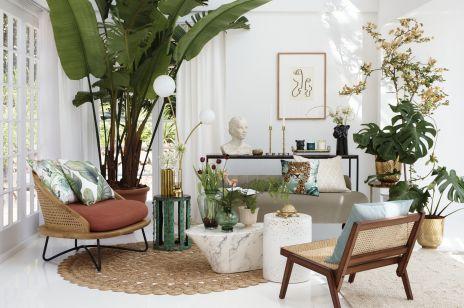 Nowa kolekcja H&M Home na wiosnę 2020: wyciszająca zieleń, naturalne materiały i złote akcesoria