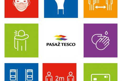 Pasaże Tesco z kampanią informacyjną pod hasłem #bliskoibezpiecznie