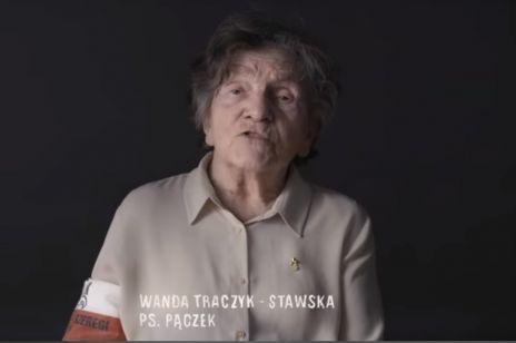 Wanda Traczyk-Stawska, uczestniczka Powstania Warszawskiego, apeluje do polityków i obywateli.