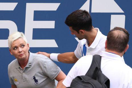 Okrutny hejt na sędzię, którą uderzył Novak Djoković. Fani tenisisty tym razem przesadzili!