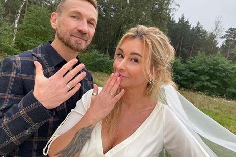 """Martyna Wojciechowska i Przemek Kossakowski wzięli ślub. """"Dzisiaj wiele się zmieniło, choć dla nas nie zmieniło się nic."""""""
