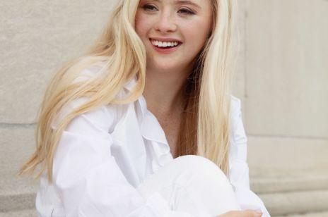 Modelka z zespołem Downa została ambasadorką kosmetyków Obagi. Grace Strobel uczy, jak żyć i spełniać marzenia!