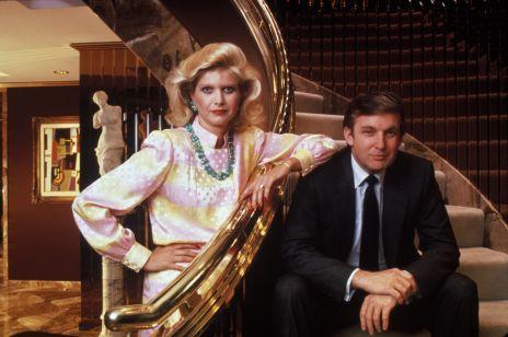 """Wszystkie żony Donalda Trumpa, czyli prawdziwa amerykańska """"Dynastia"""" w realu"""