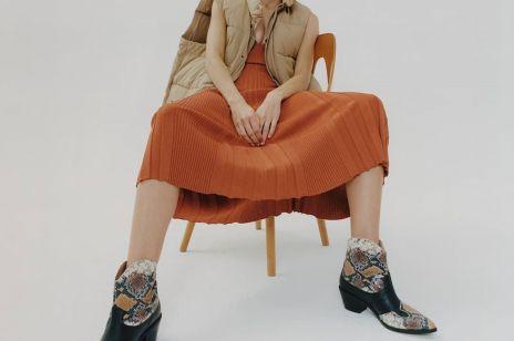 Buty w wężowy wzór - najmodniejszy print sezonu!