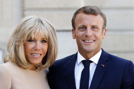 Brigitte Macron - kim jest żona prezydenta Francji Emanuela Macrona? Wiek, dzieci, zawód