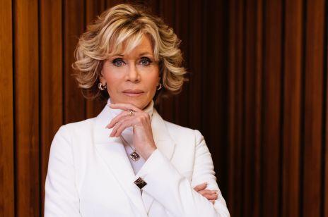 Jane Fonda -  kobieta wulkan!