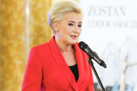 Agata Kornhauser-Duda znów w szkole. Pierwsza Dama poprowadziła lekcję dla najmłodszych