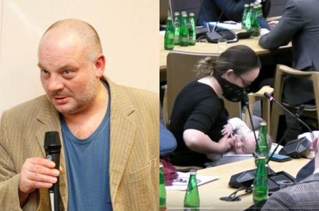 """Dr Wojciech Krysztofiak o karmieniu piersią przez posłankę: """"Pierś służy do seksu!"""""""