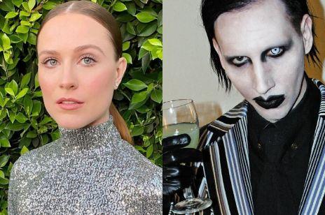 """Evan Rachel Wood oskarża Marilyna Mansona o przemoc: """"Potwornie maltretował mnie latami. Zrobił mi pranie mózgu"""""""