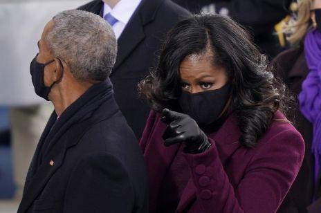 Michelle Obama na zaprzysiężeniu Joe Bidena zachwyciła świat. Porównują jej fryzurę do dzieła sztuki