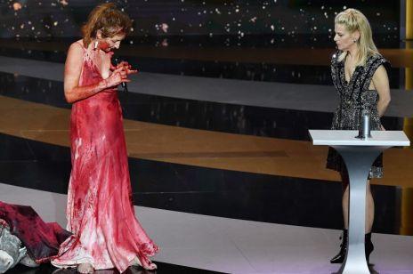 Cezary 2021: aktorka Corinne Masiero rozebrała się na scenie. Najpierw szok, potem... oklaski