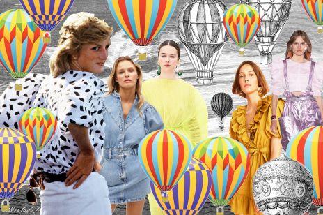 """BUFIASTE RĘKAWY to modowy hit roku, który kochała nie tylko księżna Diana. Poznaj niezwykłą historię słynnych """"BALONÓW""""!"""