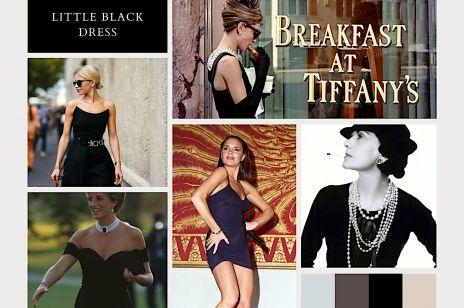 LITTLE FASHION STORY: Mała czarna sukienka - od stroju wdowy po seksowną suknię zemsty księżnej Diany
