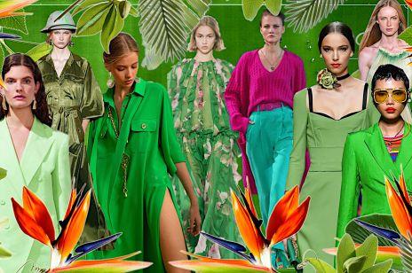 Modne kolory 2021: Te odcienie genialnie odmładzają i dodają energii! Wiosną i latem zagraj w zielone!