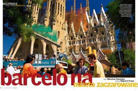 Barcelona - miasto zaczarowane