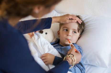 Gorączka u dziecka: jaki jest jej powód?