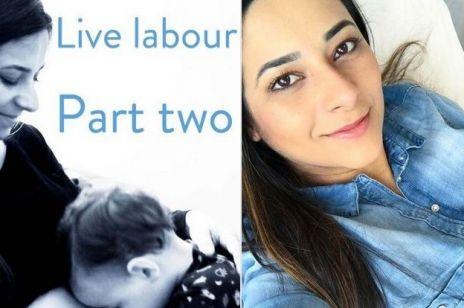 Transmisja na żywo z porodówki? Blogerka właśnie ją prowadzi