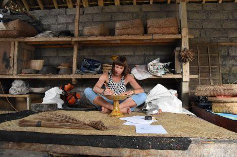 Projektantka Anna Orska na Bali