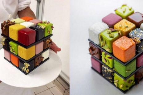 Słodkie kostki Rubika