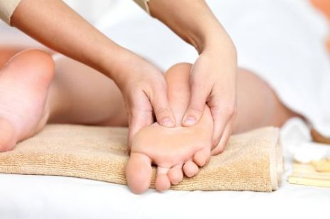 Refleksologia - leczniczy dotyk palców