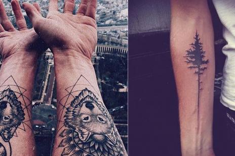 Tatuaże męskie na rękę