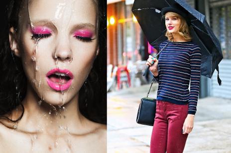 Makijaż na deszczowe dni
