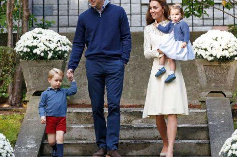 Księżna Kate książę William z dziećmi