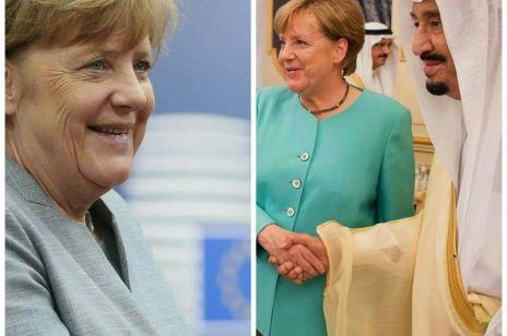 Angela Merkel u króla Arabii Saudyjskiej: wbrew prawu nie zakryła głowy!