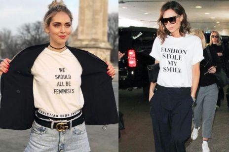 Trend moda wiosna lato 2017: T-shirty z hasłem!