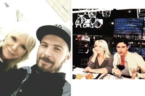 Małgorzata Domaglik z O.S.T.R i Marcinem Tyszką
