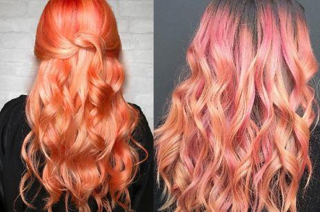Pomarańczowe włosy to tak naprawdę różne odcienie czerwieni, złota i różu.