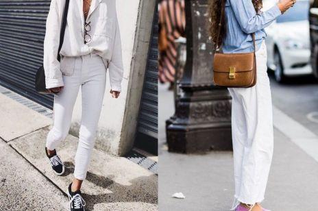 Białe jeansy - jak je nosić?