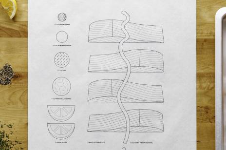 IKEA stworzyła genialne obrazkowe przepisy na papierze do pieczenia!