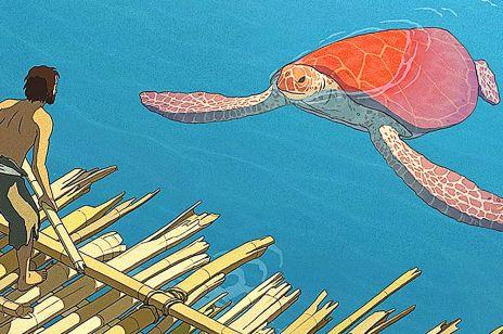 """""""Czerwony żółw"""" animacja"""