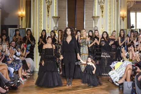 Ewa Minge pokaz haute couture w Paryżu