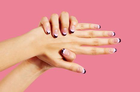 Manicure na lato 2017: szalony french