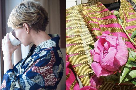 Uwaga trend! Kolorowe kimono na lato